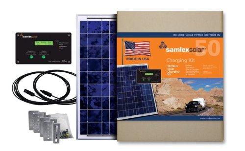 Samlex Solar SRV-50-KITUS Solar Charging Kit by Samlex America