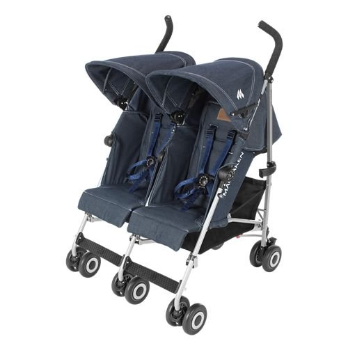 5 Point Harness Double Umbrella Stroller - 8