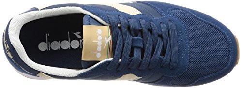 Basses Candeggiato Sco Beige Noir Sneakers Camaro Homme Denim Bl Diadora E0pqz8x