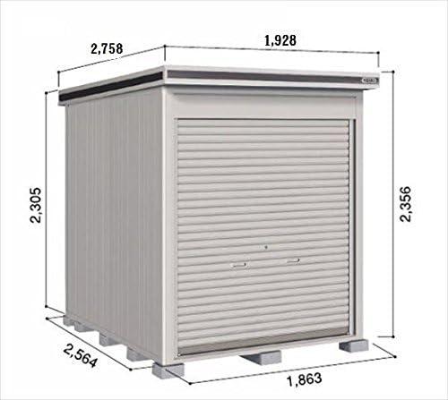 ドコウ LOC/エルモシャッター LOD-1825HF 物置 一般型