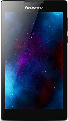 Lenovo Tab 2 A7-20 17,8 cm (7 Zoll IPS) Tablet (ARM MTK 8127 Quad-Core Prozessor, 1,3GHz, 1GB RAM, 8GB eMMC, GPS, Touchscreen, Dolby Sound, Android 4.4) schwarz