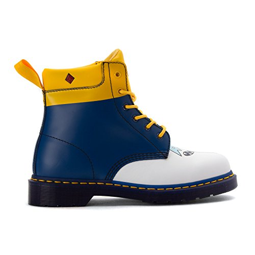 Dr.Martens Womens 939 Ice King 6 Eyelet Leather Boots