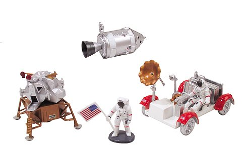 Plastic Nasa Model Kit (InAir E-Z Build Model Kit - Apollo Lunar Module with Lunar Rover)