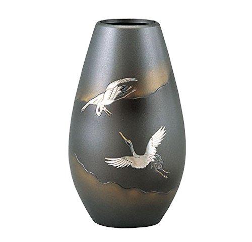 竹中銅器 銅製花瓶 砲形 楓 8寸 101-59 B015JB6OLI 楓