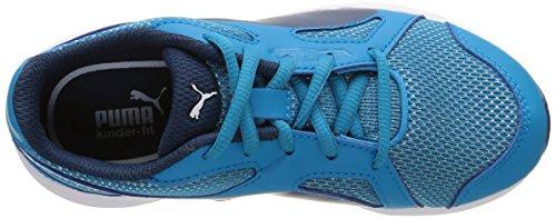 PumaAxis v4 Mesh Jr - Zapatillas Niños-Niñas Azul - Bleu (Atomic Blue/Blue Wing Teal)