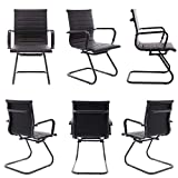Wahson 2 Pack Guest Chairs for Office, Mid Back