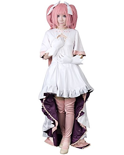 Miccostumes Women's Madoka Kaname Final Version Cosplay Costume