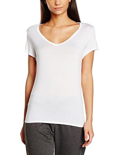Calvin Klein, Parte Superior Deportiva para Mujer Bianco (White 100)