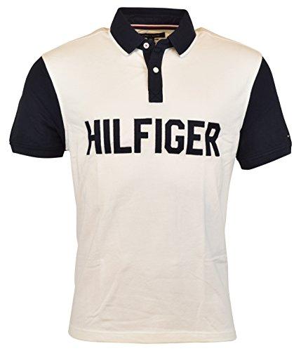 Tommy Hilfiger Men's Polo, Herren Poloshirt, Signature Polo, Size: Large