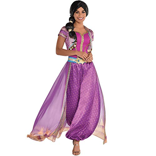 Party City Purple Jasmine Halloween Costume for