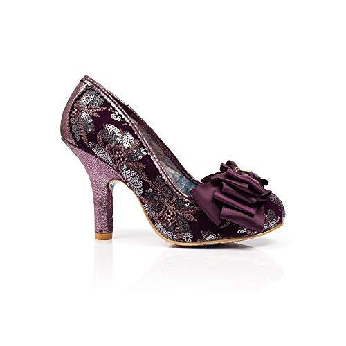 Purple Choice Bout Fermé An Ascot Femme Escarpins Irregular Multi purple 7BUvRcqq