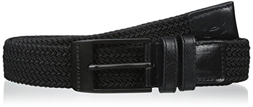 Under Armour Men's Braided Belt, Black (001)/Black, 36