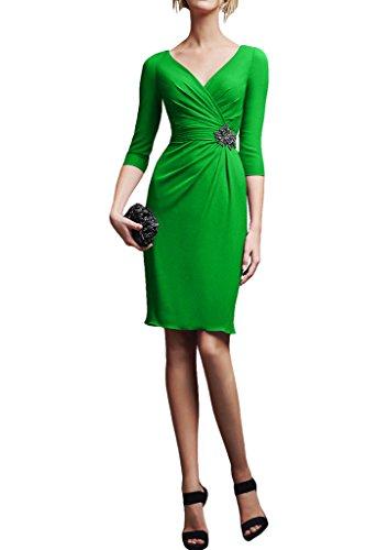Missdressy - Vestido - Estuche - para mujer Dunkelgruen