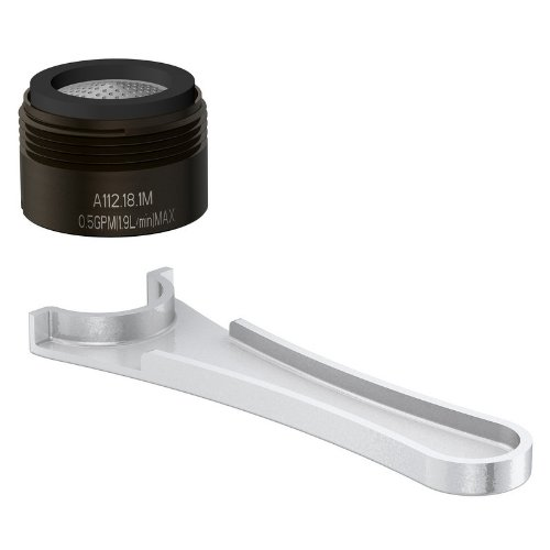 Danze DA613075NRB Junior Male Faucet Aerator Kit with Spray Flow Pattern, 0.5 GPM, Oil Rubbed Bronze