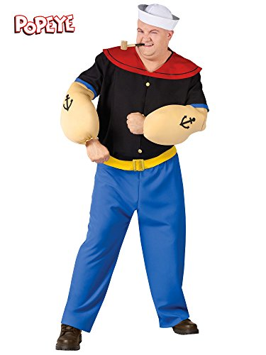 [Popeye Plus Size Adult Costume] (Popeye Plus Size Adult Mens Costumes)
