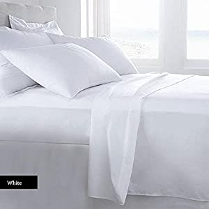 Lussona Collection 1500 Thread Count 100% Organic Cotton Bed Sheets   4  Piece Bed Sheet Set 20u0027u0027 Deep Pocket HIGHEST QUALITY U0026 LOW PRICE  Wrinkle  Free ...