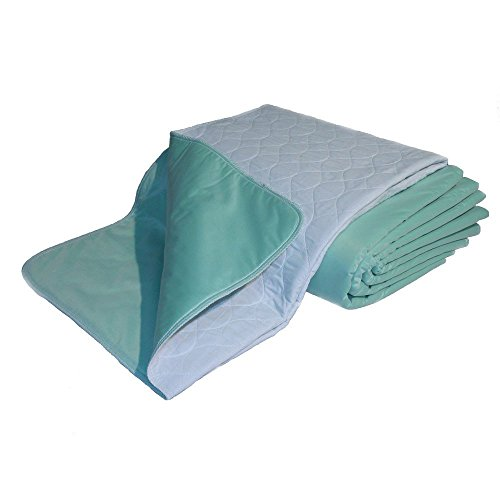 Premium Quality Bed Pad, Quilted, Waterproof, Reusable and Washable