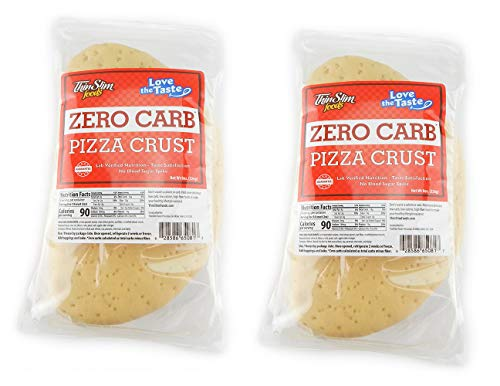 - ThinSlim Foods Love-the-Taste Low Carb Pizza Crust, 2pack