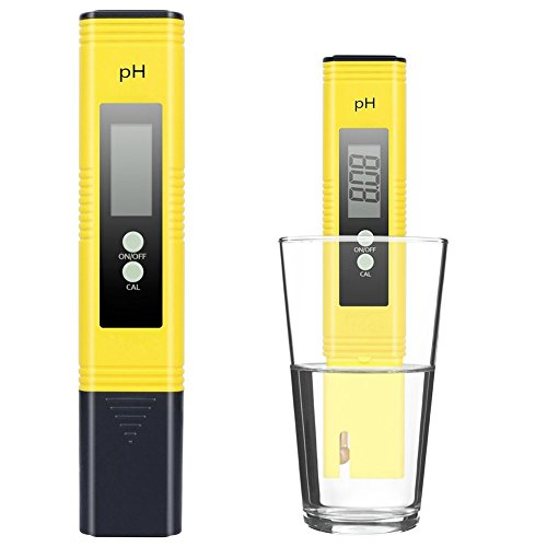 PH Meter Tester Water Pool - Exqline 0.05 Accuracy ATC Function Auto Calibration for Aquariums Swimming pools Laboratory Tap water Beverage Model: ()