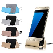 Micro USB Mobile Phone Charging Holder Station Desktop Sync Dock Charger