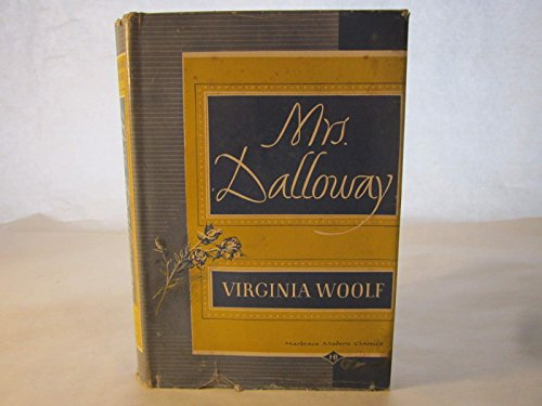 Mrs. Dalloway, Harcourt, Brace & Co.