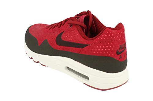 Nike Air Max 1 Ultra 2.0 Moire, Baskets Homme, Rouge (Rougeéquipe/Rougesolaire/Platinepur/Noir), 45 EU