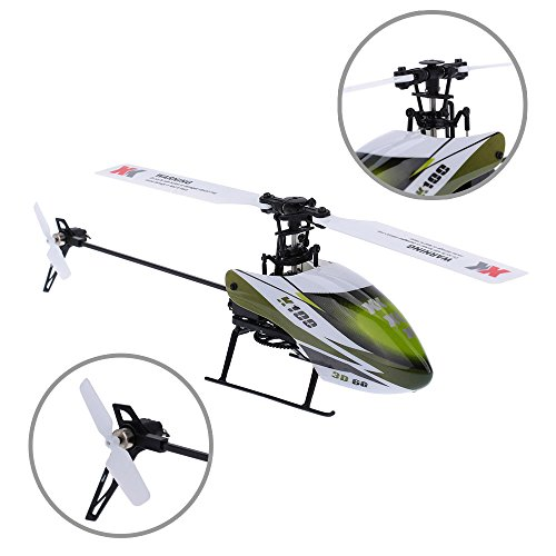 Aoile XK K100 Falcon K100-B 6CH 3D 6G System Brushless Motor BNF RC Quadrocopter Remote Control Helicopter Drone