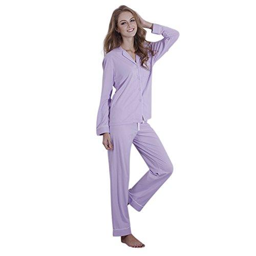 FeelinGirl - Pijama - para mujer morado