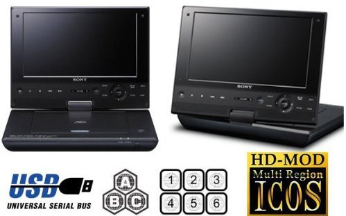 SONY SX910 Multi System Zone All Region Free DVD Blu-Ray Player - 100~240V 50/60Hz World Wide Voltage