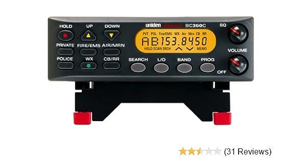 amazon com uniden bc350c 800 mhz mobile scanner electronics rh amazon com Uniden Bearcat 350C Scanner Uniden BC350C Programming