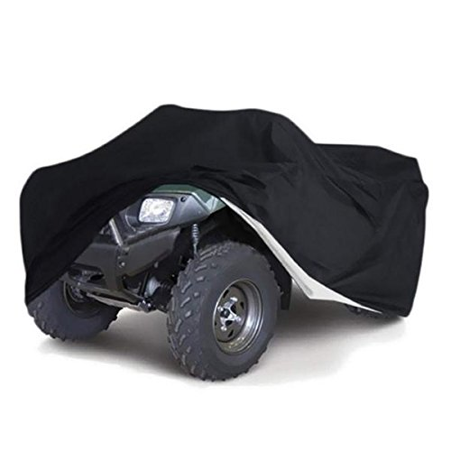 - Quad Bike Cover Waterproof Heatproof 220x98x106cm Black - Body & Frame Motorcycle Cover - 1 X XXL Size Car Cover