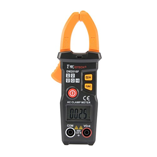 Price comparison product image DMiotech DM2016F Clamp Meters Automatic Digital Multimeter AC DC Current Volt Ohm Electric Resistance Detector Handheld Electronic Tester Tool LCD Display