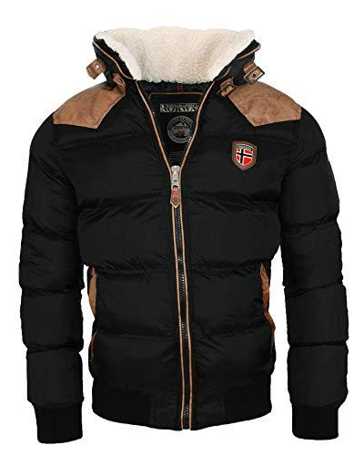 Geographical Norway warme Winterjacke Designer Herren Winter Stepp Jacke