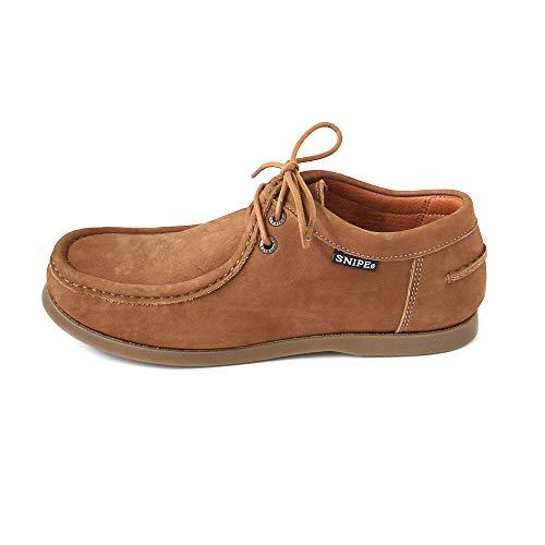 Cuero de de Zapatos Cordones para Mujer Snipe Marr fpPFOqq