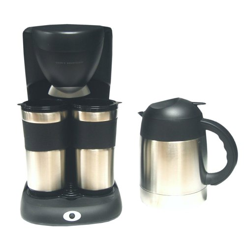 Amazoncom Cooks Essentials Cetcm2c Coffee Maker With Two Stainless