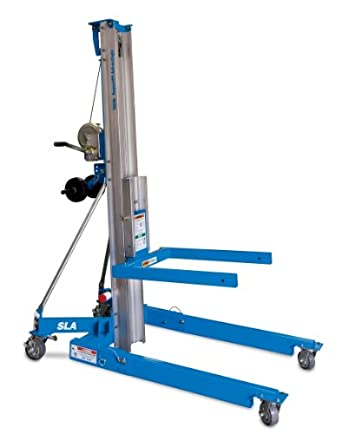 "Genie Super Lift Advantage, SLA- 20, 800 lbs Load Capacity, Lift Height 21' 2.5"", Load & Transport with Single User"