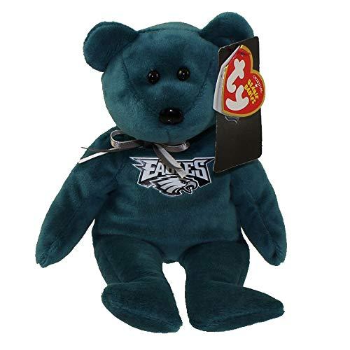 - NFL Philadelphia Eagles TY Beanie Baby Teddy Bear Plush 8.5