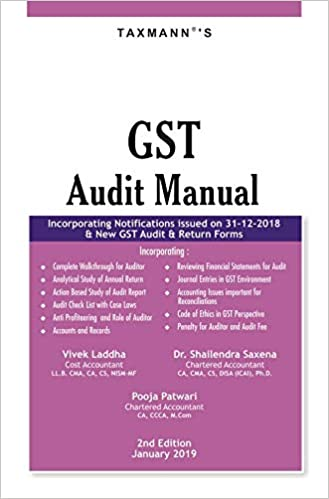 GST Audit Manual (2nd Edition January 2019)