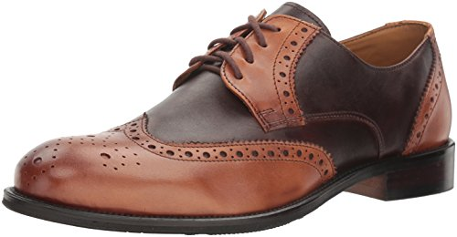 Giorgio Brutini Men's Reine Oxford, Tan/Brown, 12 US/12 M US