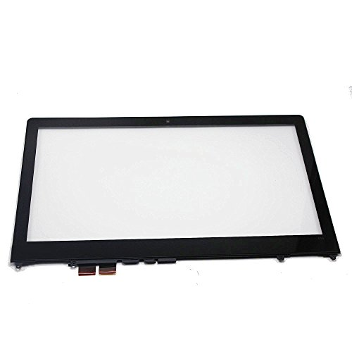 LCDOLED 15.6 inch Replacement Touch Screen Digitizer Glass Panel + Bezel For Lenovo Flex 4-1580 80VE -  201706261722