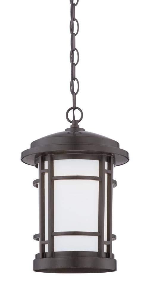 Barrister 9'' LED Hanging Lantern by Designers Fountain LED22434-BNB in Bronze Finish