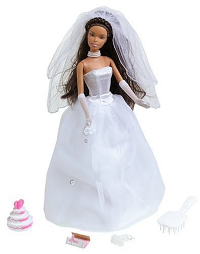 barbie doll wedding set : Target