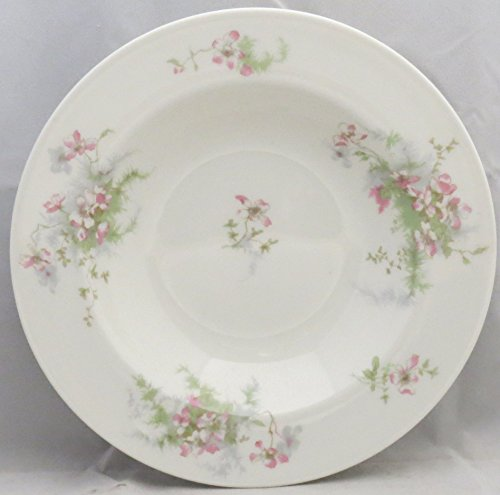 Haviland Apple Blossom (New York) Rim Soup Bowl