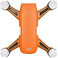 Goolsky Protective Skin Sticker Cover Set & Motor Protective Cap for DJI Spark FPV Quadcopter
