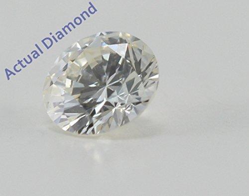 Diamant Rond taillés (0.31 Ct, K Couleur,VS1 Clarté)