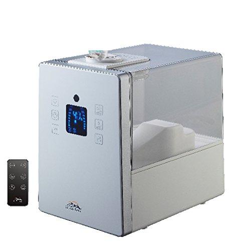 Heaven Fresh HF710-W Digital Ultrasonic Cool & Warm Mist Humidifier with Aroma Function, White by Heaven Fresh