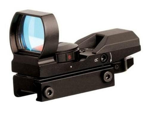 IRON JIA'S 20mm airsoft Tactical ferroviaire multi réticule 4 Rouge et Green Dot Sight Portée queue d'aronde Monts Red… 2