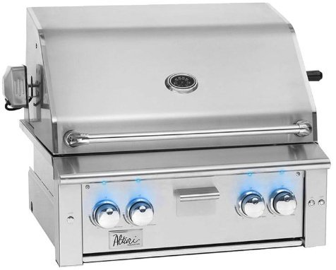 Summerset Alturi 30-inch 2-burner Built-in Natural or Propane Gas Grill W/ Red Brass Burners and Rotisserie - ALT30-RB-NG or ALT30-RB-LP (Natural Gas) ()