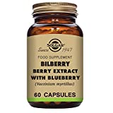 Cheap Solgar Standardized Full Potency Bilberry Berry Extract Vegetable Capsules, 60 Count