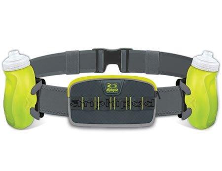 Amphipod Unisex RunLite Xtech 2 Plus Charcoal/Amp/Green by Amphipod